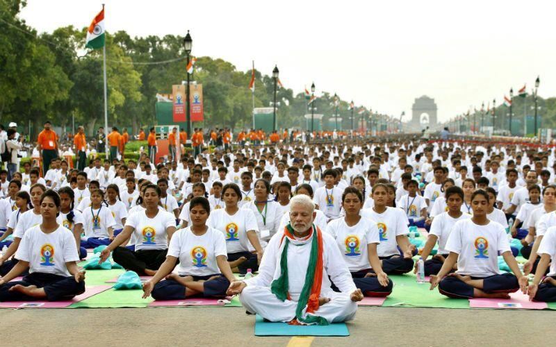 Международный день йоги.