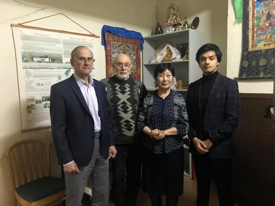 Встреча с председателем Московской Общины Буддистов